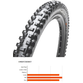 "Maxxis Shorty Bike Tire 27.5"" 3C MaxxGrip DD TR can be folded black"